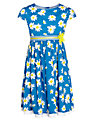 John Lewis Girl Daisy Dress, Blue