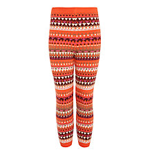 Buy Donna Wilson for John Lewis Funky Leggings, Orange/Multi Online at johnlewis.com