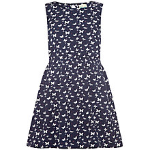 Buy Yumi Girl Butterfly & Dragonfly Dress, Navy Online at johnlewis.com