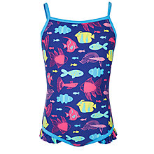 Buy John Lewis Girl Fish Swimsuit Online at johnlewis.com