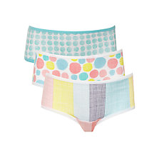 Buy Kin by John Lewis Girl Spot & Stripe Print Shorties, Multi Online at johnlewis.com