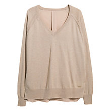 Buy Violeta by Mango Flowy V-Neck Jumper Online at johnlewis.com