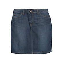 Buy Violeta by Mango Denim Skirt, Navy Online at johnlewis.com