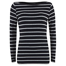 Buy Mint Velvet Stripe Tee, Stripe Online at johnlewis.com