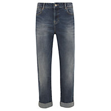 Buy Mint Velvet Denver Boyfriend Jeans, Blue Online at johnlewis.com