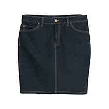Buy Violeta by Mango Denim Skirt, Dark Blue Online at johnlewis.com
