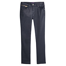Buy Violeta by Mango Slim-Fit Carmex Jeans, Navy Online at johnlewis.com
