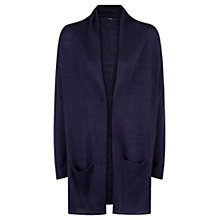 Buy Mango Mohair Cardigan, Navy Online at johnlewis.com