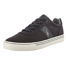 Buy Polo Ralph Lauren Hanford Canvas Trainers Online at johnlewis.com