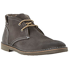 Buy Bertie Clunk Desert Boots, Grey Online at johnlewis.com