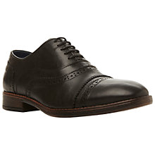Buy Dune Bosworth Toecap Brogue Shoes Online at johnlewis.com