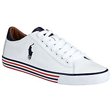 Buy Polo Ralph Lauren Harvey Canvas Trainers Online at johnlewis.com