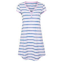 Buy John Lewis Narrow Stripe Nightdress, Multi Online at johnlewis.com