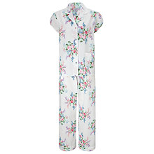 Buy John Lewis Bouquet Floral Pyjama Set, White / Multi Online at johnlewis.com