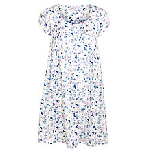 Buy John Lewis Ditsy Floral Short Sleeve Nightdress, Pink Multi Online at johnlewis.com