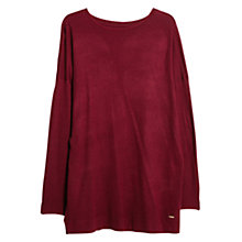 Buy Violeta by Mango Elbow-Patch Sweater, Dark Red Online at johnlewis.com