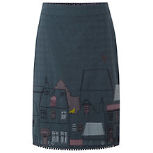 Buy White Stuff Street Scene Skirt, Green Eel Online at johnlewis.com