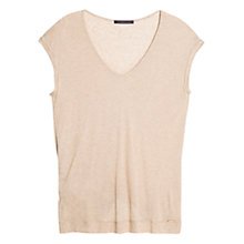 Buy Violeta by Mango Luxury T-shirt Online at johnlewis.com