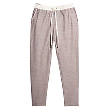 Buy Violeta by Mango Fantasy Jogging Trousers, Light Pastel Pink Online at johnlewis.com