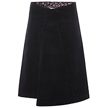 Buy White Stuff Justine Cord Skirt, Black Online at johnlewis.com