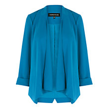 Buy Warehouse Waterfall Draped Jacket, Bright Blue Online at johnlewis.com
