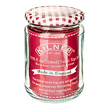 Buy Kilner Twist Top Preserving Jar Online at johnlewis.com