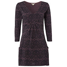 Buy White Stuff Printed Market Tunic, Dusty Fig Online at johnlewis.com