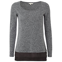 Buy White Stuff Jasia Top, Smog Grey Online at johnlewis.com