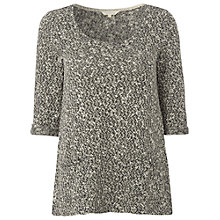Buy White Stuff Selvedge Knit Top, Greyhound Online at johnlewis.com