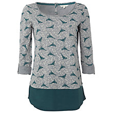 Buy White Stuff Farthing T-shirt, Privet Green Online at johnlewis.com