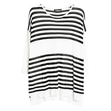 Buy Mango Horizontal Stripe Jumper Online at johnlewis.com