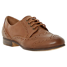 Buy Dune Linfred Leather Lace Up Brogues Online at johnlewis.com
