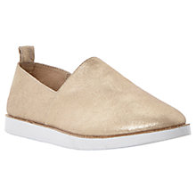 Buy Steve Madden Acction Trainers, Gold Online at johnlewis.com