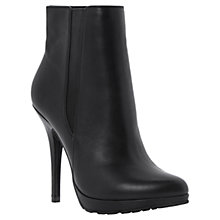 Buy Dune Nino Leather High Heeled Chelsea Ankle Boots Online at johnlewis.com