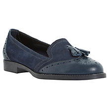Buy Dune Lyncoln Suede Tassel Detailed Loafers Online at johnlewis.com