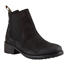 Buy Barbour Caveson Leather Quilted Chelsea Ankle Boots Online at johnlewis.com