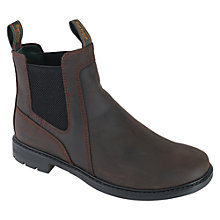 Buy Barbour Ulverston Leather Chelsea Ankle Boots Online at johnlewis.com
