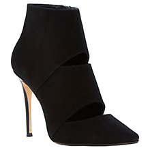 Buy Dune Adrianne Suede High Heel Pointed Toe Shoe Boots Online at johnlewis.com