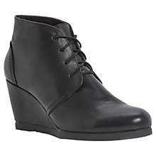 Buy Dune Pippah Wedge Heeled Shoe Boots Online at johnlewis.com