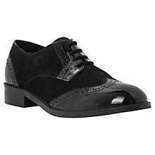 Buy Dune Leslee Leather Lace Up Brogue Shoes Online at johnlewis.com