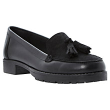 Buy Dune Leland Leather Tassel Loafers Online at johnlewis.com