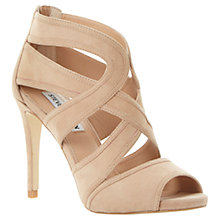 Buy Steve Madden Immence Suede Strappy High Stiletto Heel Sandals Online at johnlewis.com