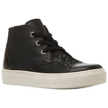 Buy Bertie Pollyana Leather High Top Lace Up Trainers Online at johnlewis.com