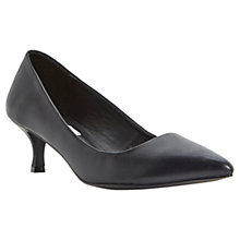 Buy Steve Madden Taima Kitten Heel Pointed Court Shoes Online at johnlewis.com