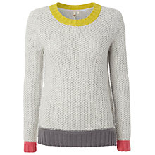 Buy White Stuff Canvas Jumper, Grey Online at johnlewis.com