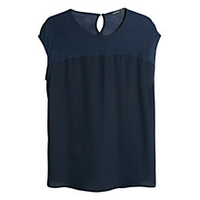 Buy Mango Contrast Bodice T-Shirt Online at johnlewis.com