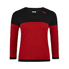 Buy Precis Petite Colour Block Jumper, Multi Dark Online at johnlewis.com