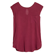 Buy Mango Patterned Flowy T-Shirt Online at johnlewis.com