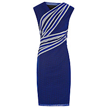 Buy Reiss Fabia Fitted Print Dress Online at johnlewis.com