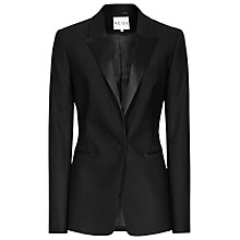 Buy Reiss Slim Fitted Jacket, Black Online at johnlewis.com